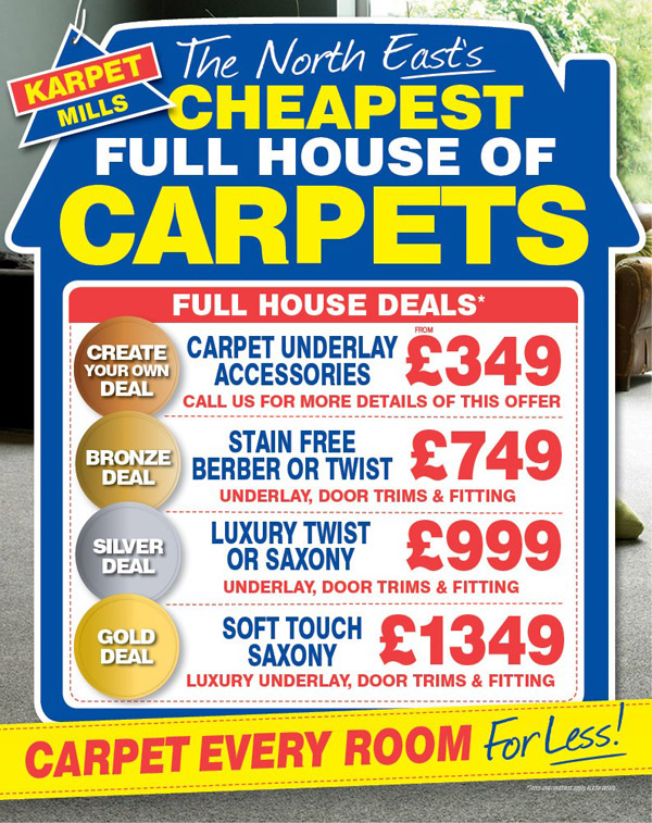 Full House Carpet Deals