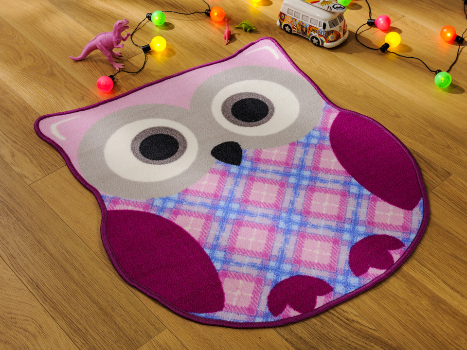 Flair Rugs Kiddy Play Owl